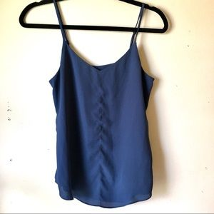 🍓BOGO RW&CO camisole blue adjustable strap
